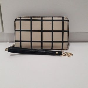 Fossil Checkered Wallet